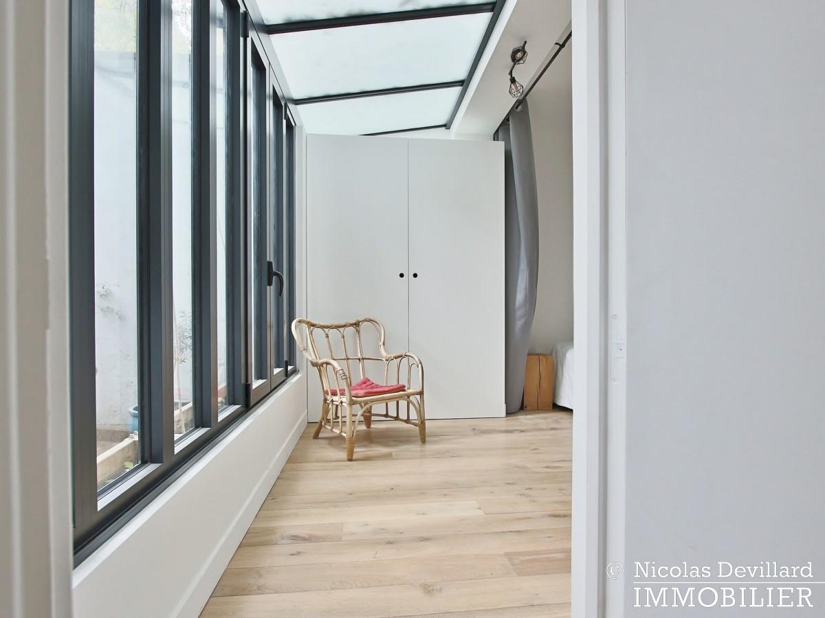 Félix Faure – Calme et charme autour d'un patio dans un hôtel particulier – 75015 Paris (2)