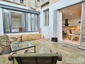 Félix Faure – Calme et charme autour d'un patio dans un hôtel particulier – 75015 Paris (22)