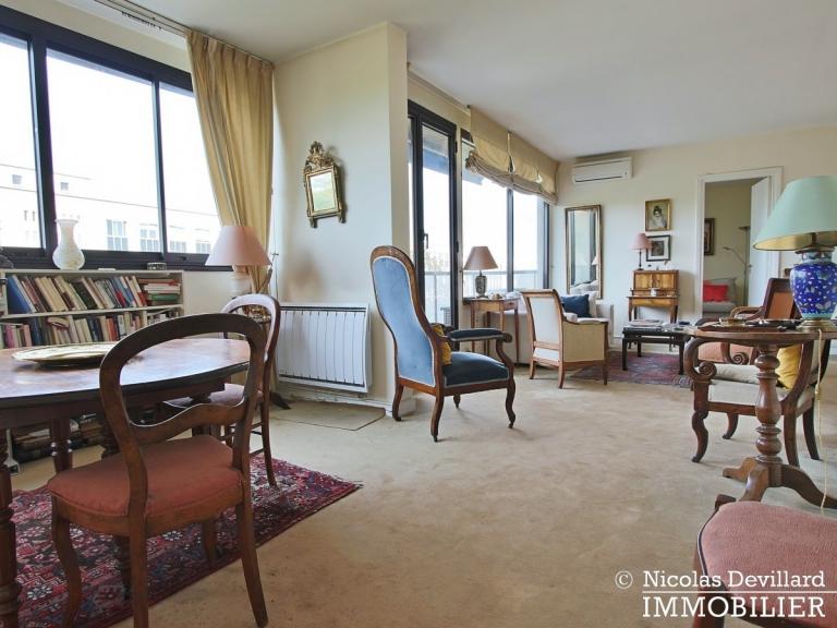 FochLongchamp – Grand salon, belle vue dégagée et soleil – 75116 Paris (17)