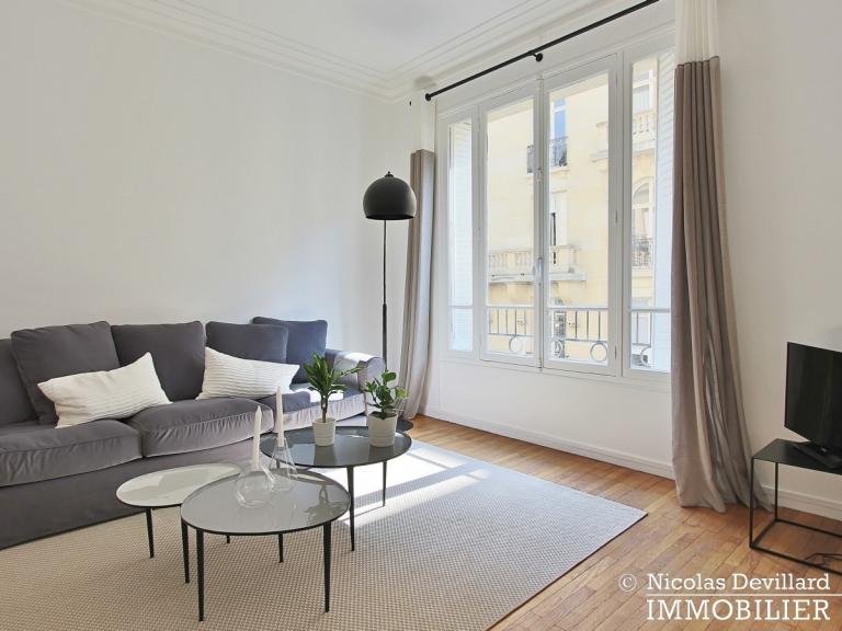 Place Victor Hugo – Chic parisien, volume, calme et lumière – 75116 Paris (13)