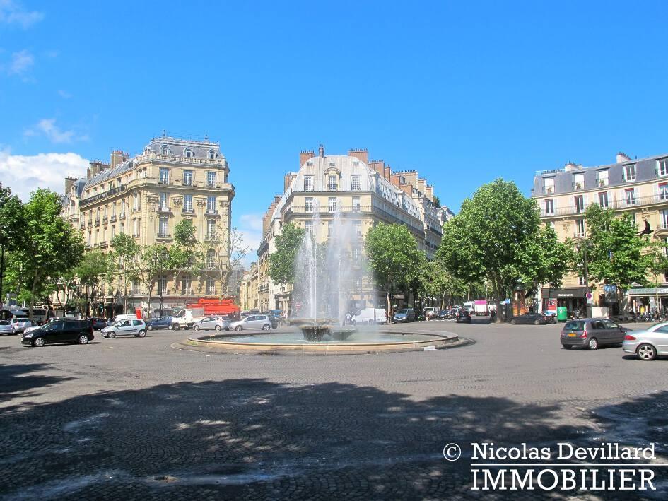 Place Victor Hugo – Chic parisien, volume, calme et lumière – 75116 Paris (15)