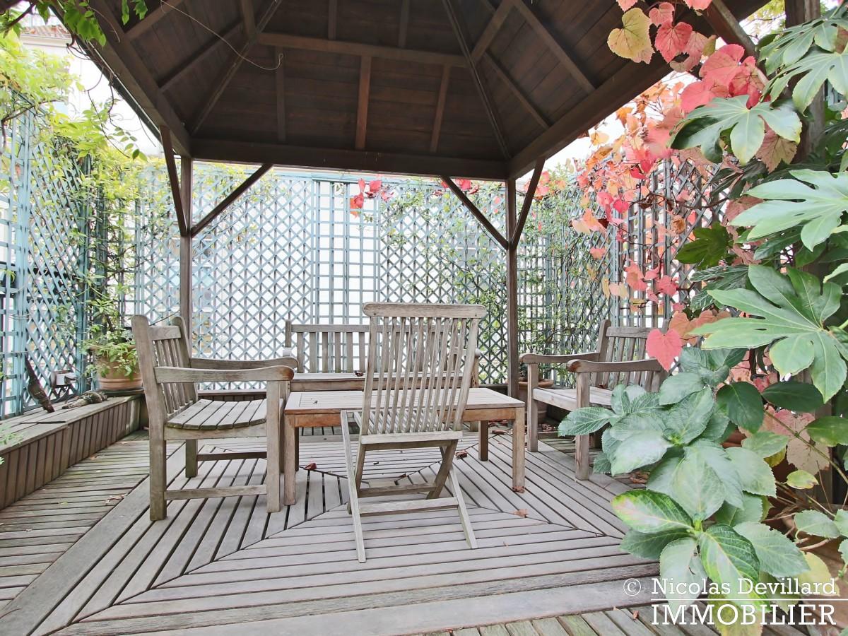 Avenue Montaigne – Somptueux appartement de réception avec terrasse – 75008 Paris (29)