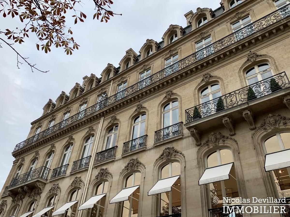 Avenue Montaigne – Somptueux appartement de réception avec terrasse – 75008 Paris (50)