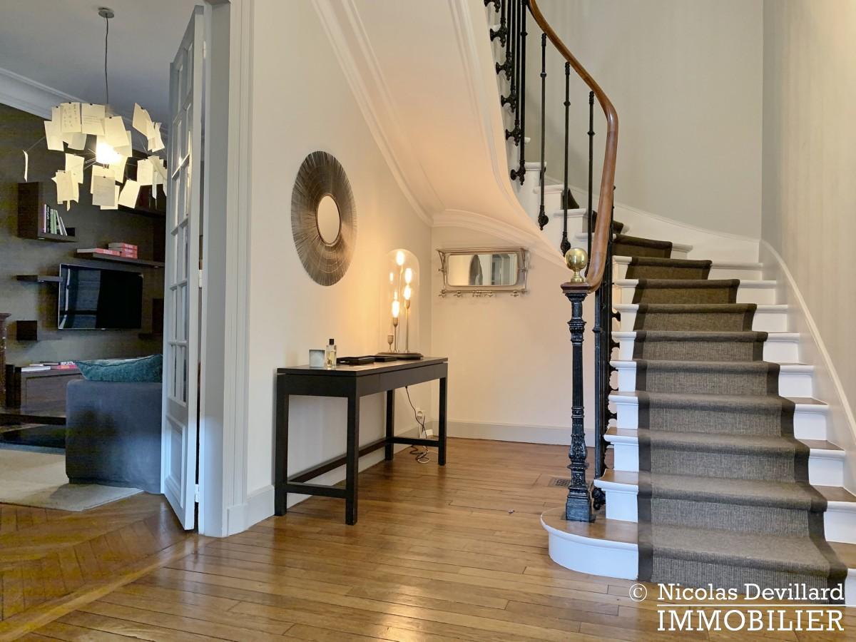 Saint JamesBois – Somptueux hôtel particulier plein sud avec jardin – 92200 Neuilly sur Seine (47)