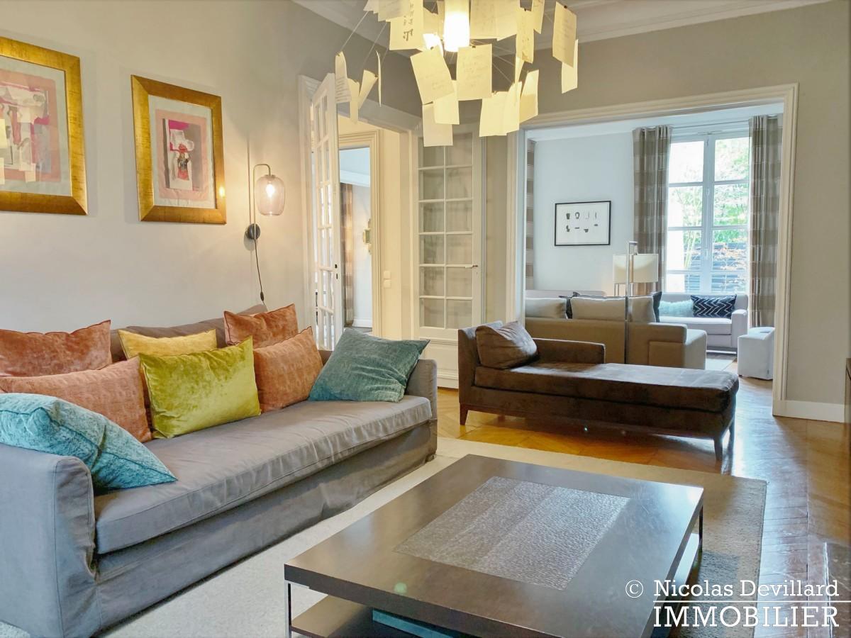 Saint JamesBois – Somptueux hôtel particulier plein sud avec jardin – 92200 Neuilly sur Seine (52)