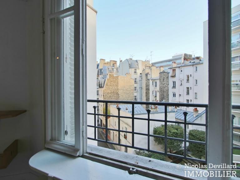 EpinettesGuy Môquet – Deux pièces en étage élevé, calme et lumineux – 75017 Paris (18)