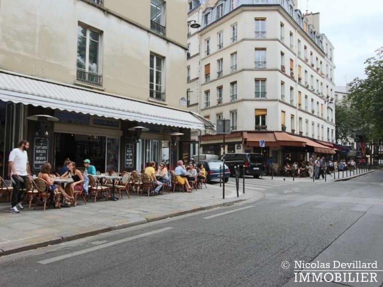 Haut-MaraisSquare du Temple – Dernier étage rénové avec vue – 75003 Paris (1)
