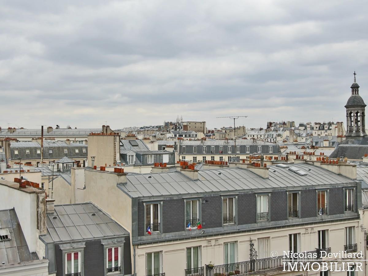 Haut MaraisSquare du Temple – Dernier étage rénové avec vue – 75003 Paris (12)