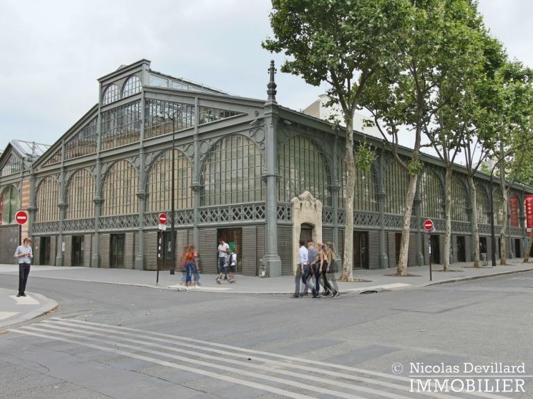 Haut-MaraisSquare du Temple – Dernier étage rénové avec vue – 75003 Paris (29)