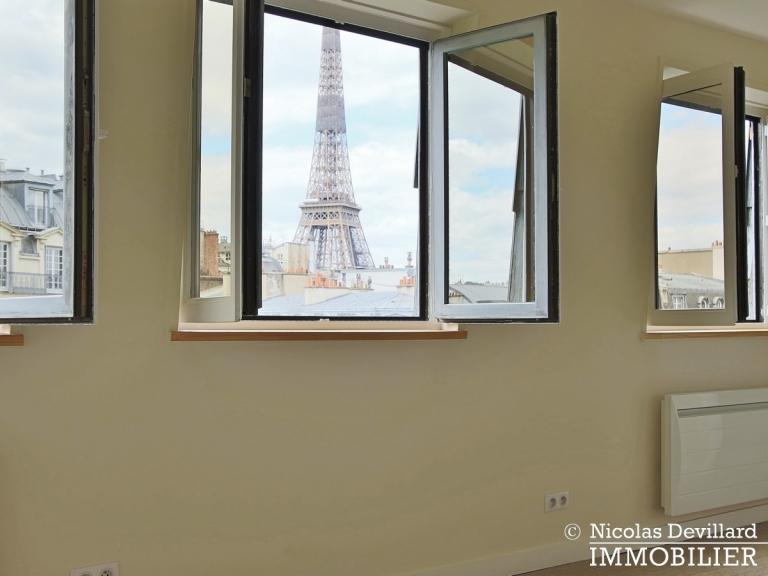 Bosquetrue Cler – Dernier étage rénové avec vue – 75007 Paris (13)