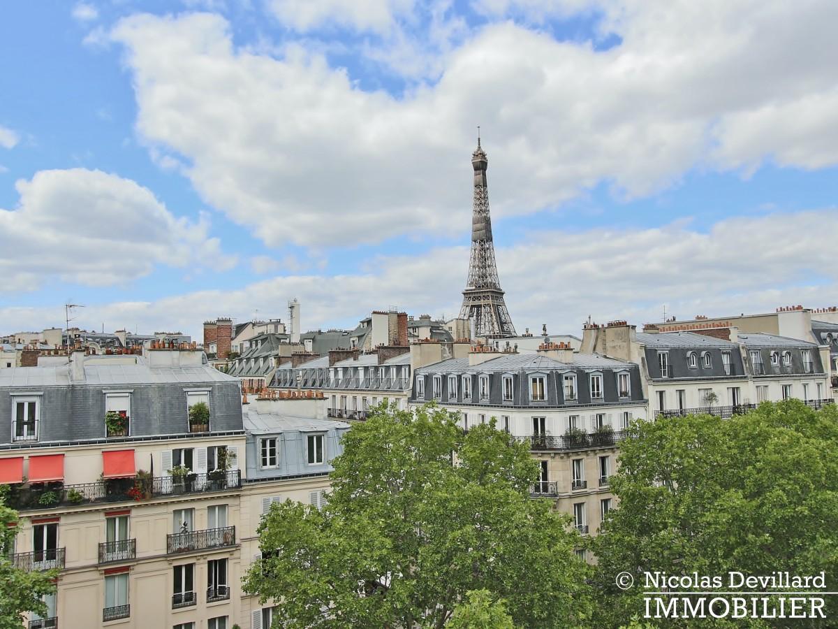 Bosquetrue Cler – Dernier étage rénové avec vue – 75007 Paris (14)