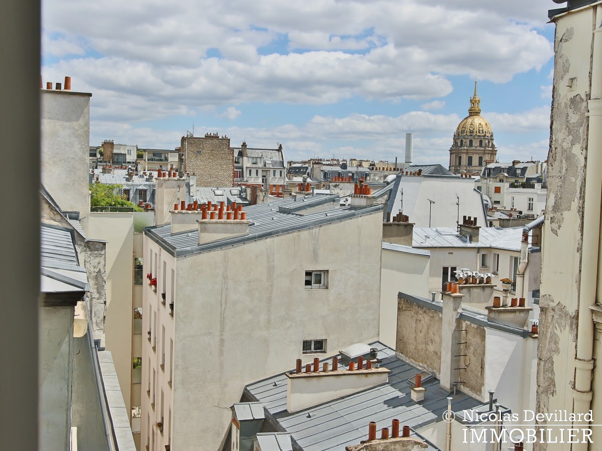 Bosquetrue Cler – Dernier étage rénové avec vue – 75007 Paris (33)