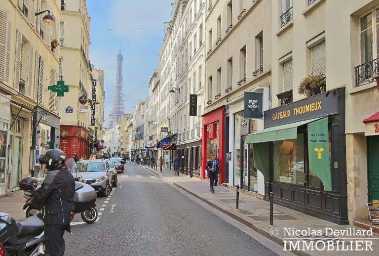 Bosquetrue Cler – Dernier étage rénové avec vue – 75007 Paris (4)