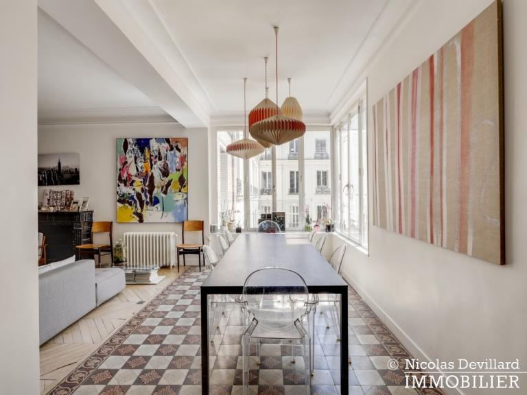 Champ de MarsSt-Dominique – Classique familial revisité par architecte – 75007 Paris (15)