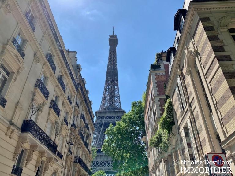 Champ de MarsSt-Dominique – Classique familial revisité par architecte – 75007 Paris (2)