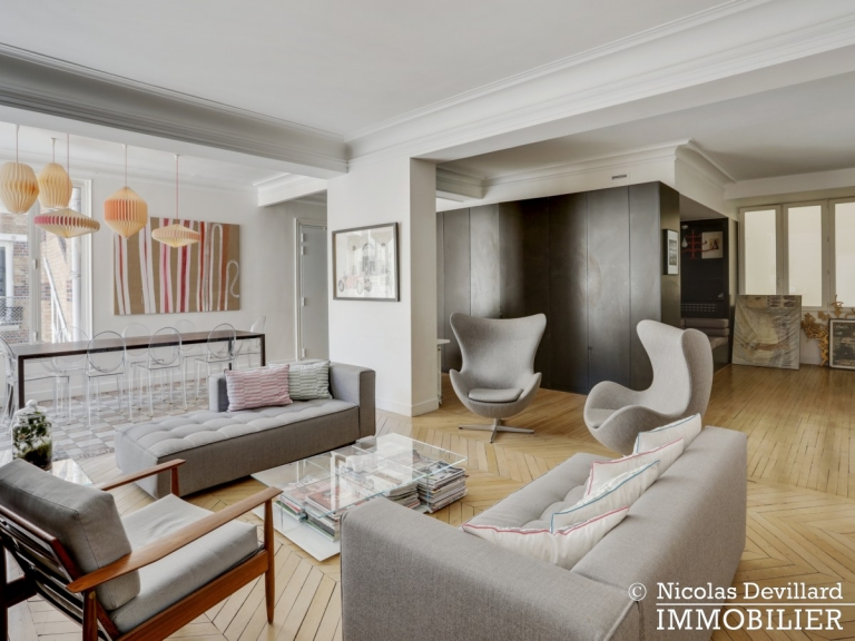 Champ de MarsSt-Dominique – Classique familial revisité par architecte – 75007 Paris (32)