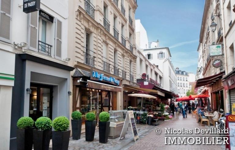 Village de Passy – Rénovation de qualité et terrasse plein soleil – 75016 Paris (35)