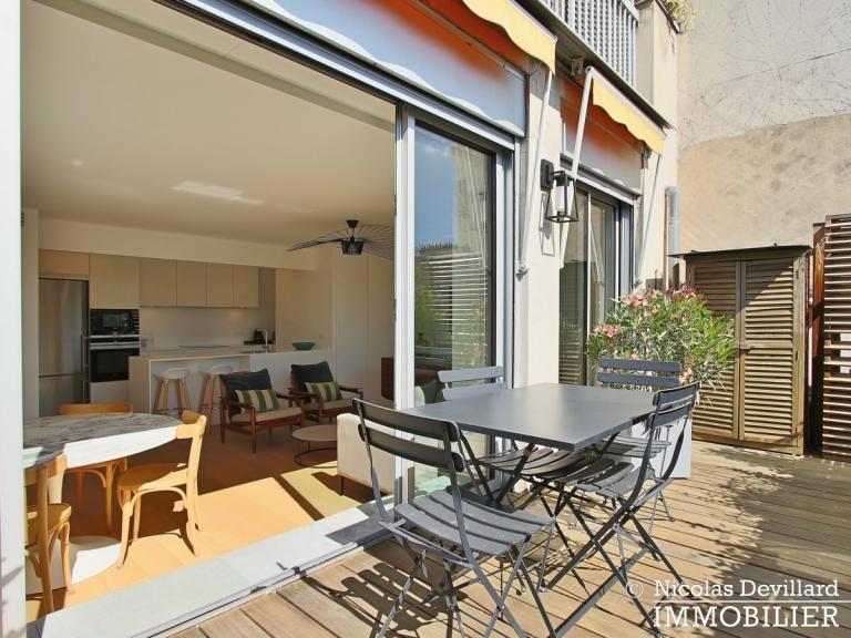 Village de Passy – Rénovation de qualité et terrasse plein soleil – 75016 Paris (6)