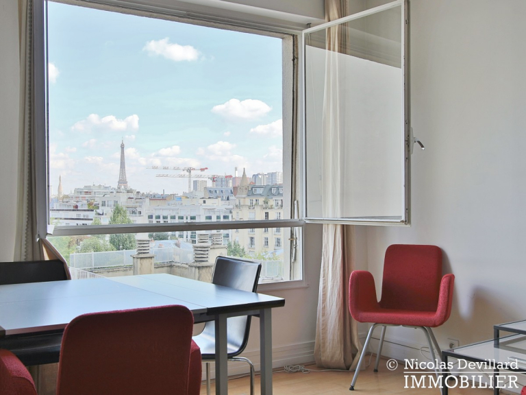 AuteuilExelmans – Spacieux, calme et vue sur Paris et jardins – 75016 Paris (7)