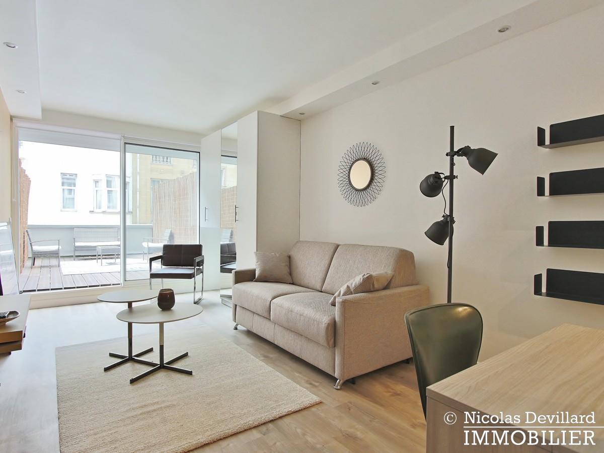 MozartJasmin – Studio élégamment rénové avec terrasse – 75016 Paris (1)