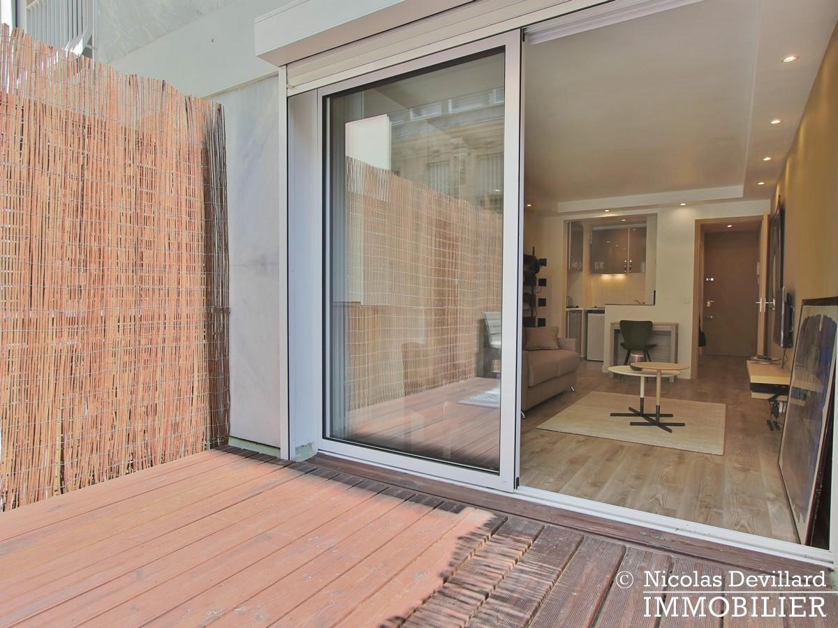 MozartJasmin – Studio élégamment rénové avec terrasse – 75016 Paris (13)