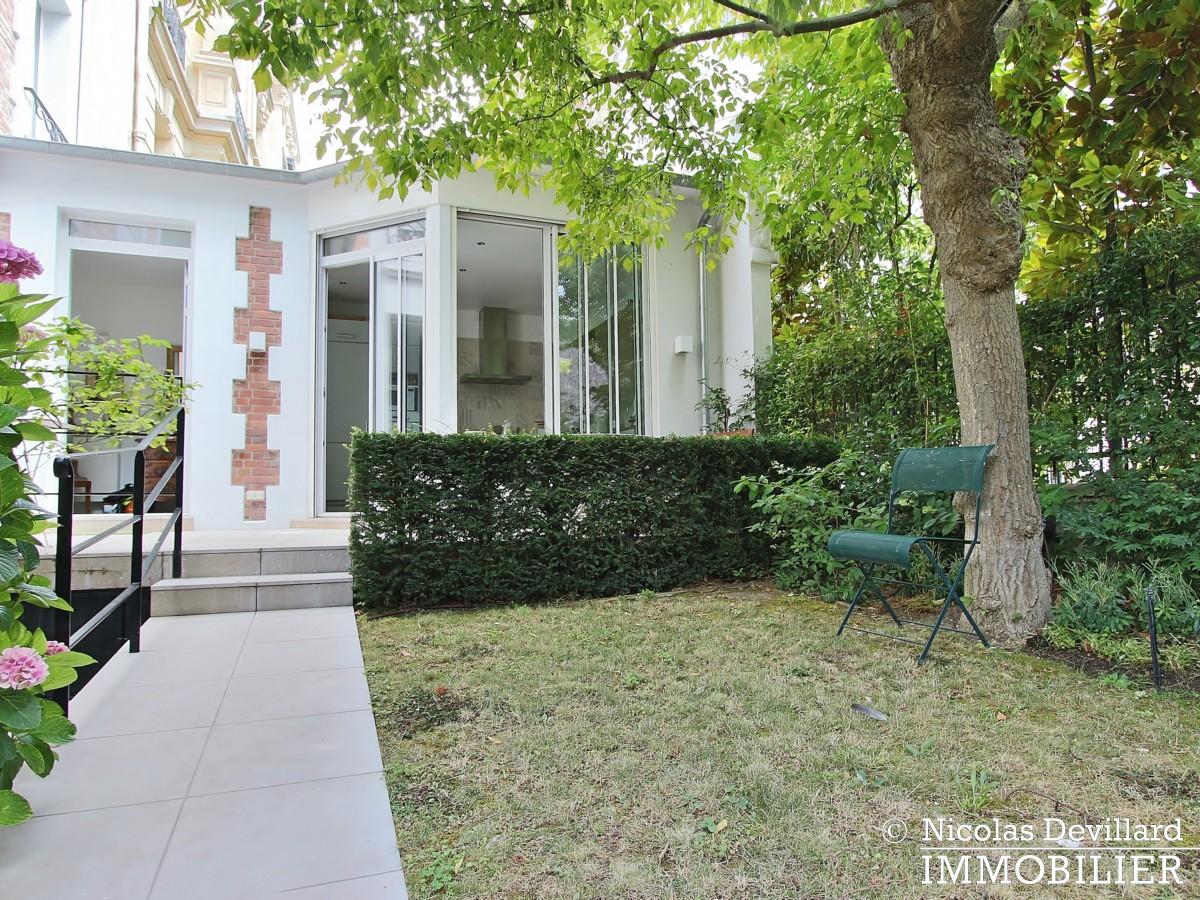 MadridBois de Boulogne – Hôtel particulier avec jardin dans une voie privée – 92200 Neuilly sur Seine (10)