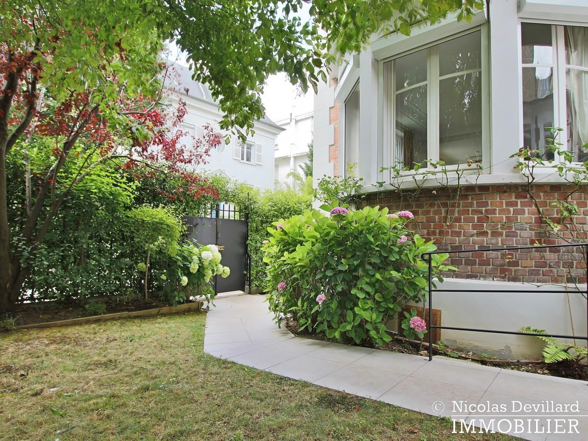 MadridBois de Boulogne – Hôtel particulier avec jardin dans une voie privée – 92200 Neuilly sur Seine (11)