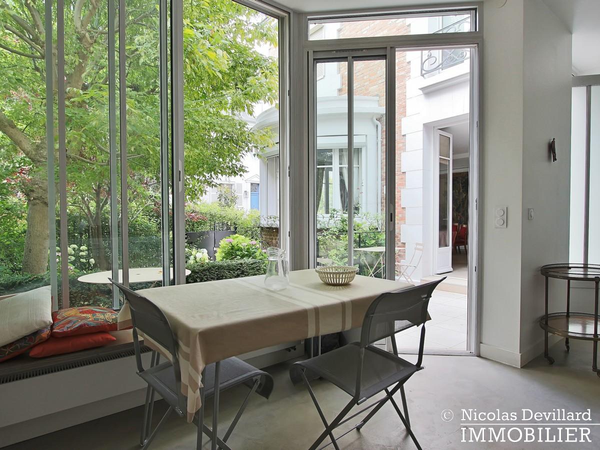 MadridBois de Boulogne – Hôtel particulier avec jardin dans une voie privée – 92200 Neuilly sur Seine (13)