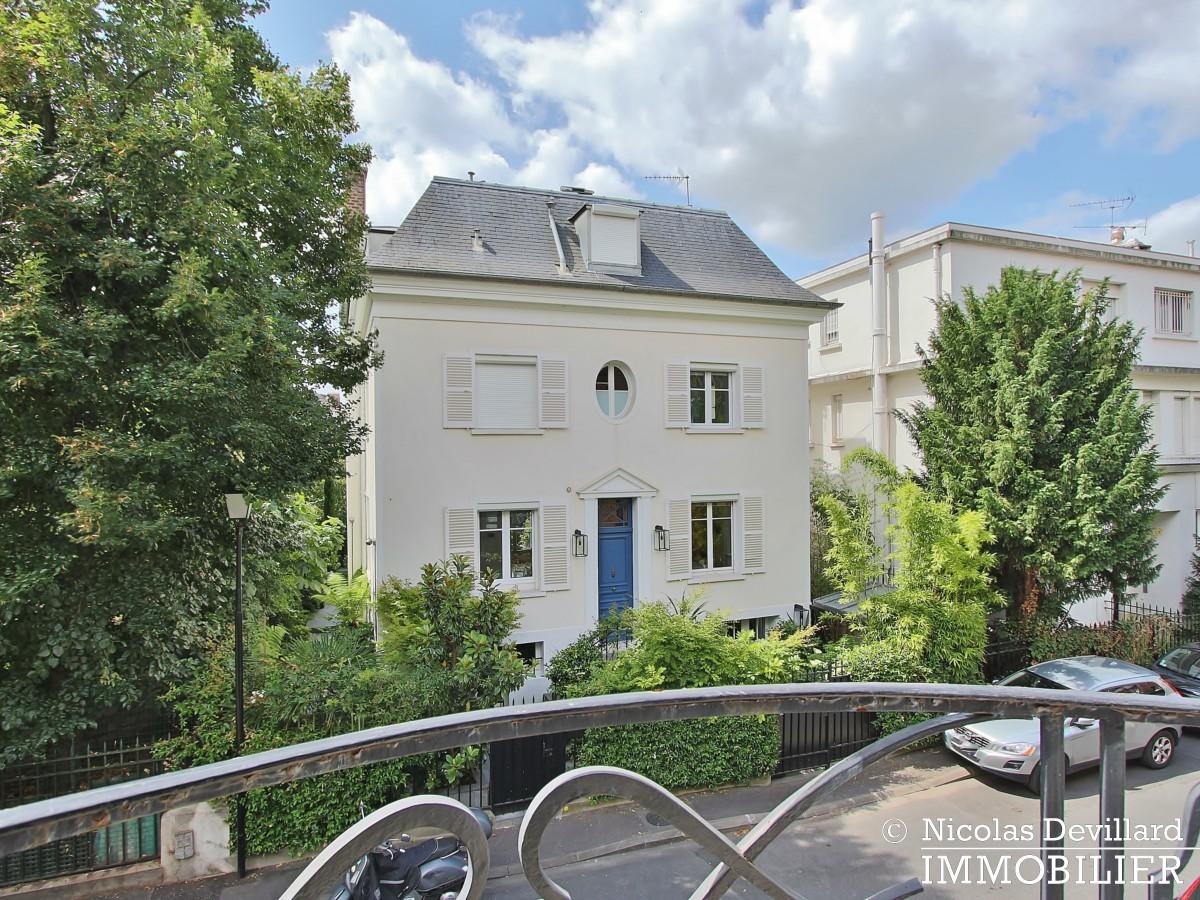 MadridBois de Boulogne – Hôtel particulier avec jardin dans une voie privée – 92200 Neuilly sur Seine (19)