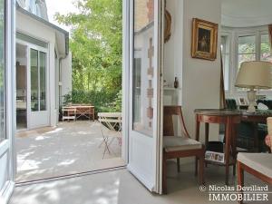 MadridBois de Boulogne – Hôtel particulier avec jardin dans une voie privée – 92200 Neuilly sur Seine (5)