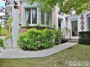 MadridBois de Boulogne – Hôtel particulier avec jardin dans une voie privée – 92200 Neuilly sur Seine (8)