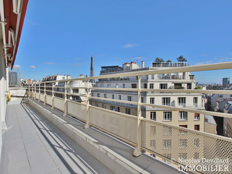 PassyTrocadéro – Etage élevé, soleil, vue et terrasses – 75116 Paris (11)