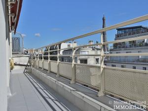 PassyTrocadéro – Etage élevé, soleil, vue et terrasses – 75116 Paris (13)