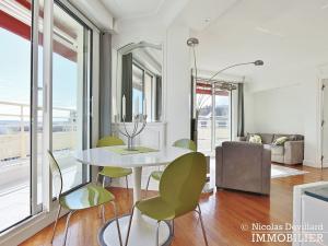 PassyTrocadéro – Etage élevé, soleil, vue et terrasses – 75116 Paris (15)