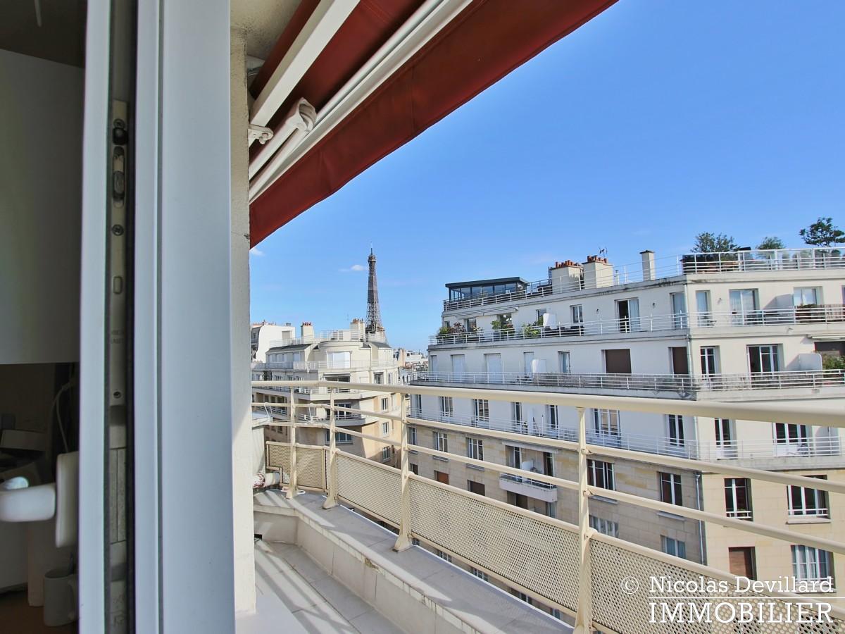 PassyTrocadéro – Etage élevé, soleil, vue et terrasses – 75116 Paris (19)