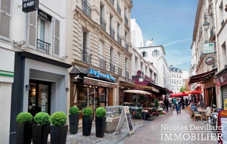 PassyTrocadéro – Etage élevé, soleil, vue et terrasses – 75116 Paris (37)