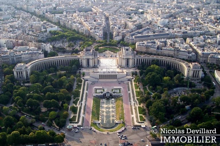 PassyTrocadéro – Etage élevé, soleil, vue et terrasses – 75116 Paris (38)