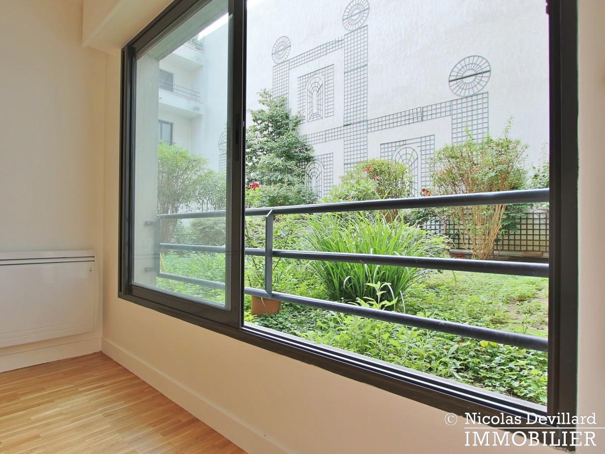 RomeBatignolles– Rénové, calme, sur jardin et parking – 75017 Paris (5)