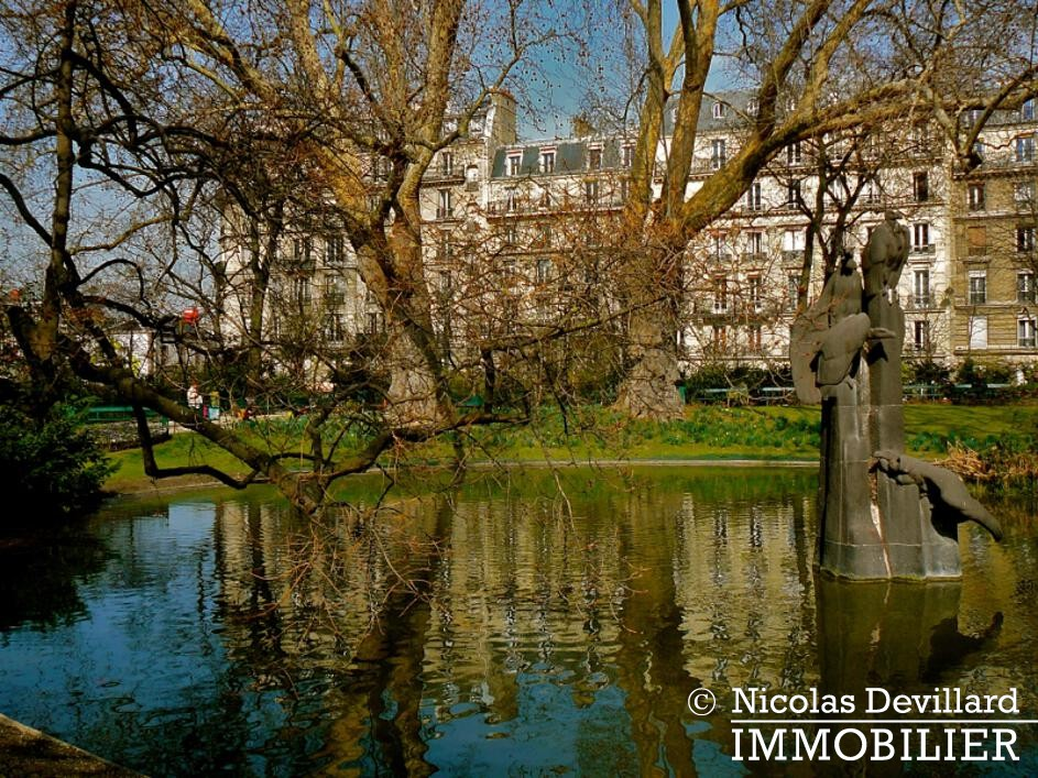 Square des BatignollesPlaine Monceau – Classique familial rénové – 75017 Paris (28)