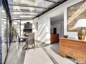Victor Hugo – Penthouse terrasses dernier étage dans voie privée – 75116 Paris (18)