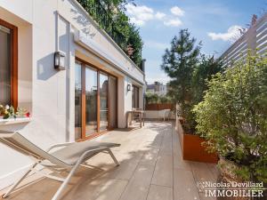 Victor Hugo – Penthouse terrasses dernier étage dans voie privée – 75116 Paris (19)
