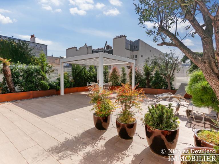 Victor Hugo – Penthouse terrasses dernier étage dans voie privée – 75116 Paris (5)