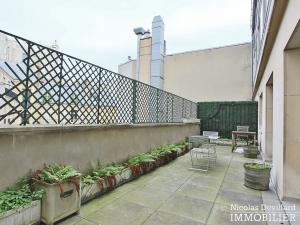 Triangle d'orGeorge V – Pied à terre au calme avec terrasse – 75008 Paris (14)