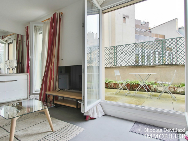 Triangle d'orGeorge V – Pied-à-terre au calme avec terrasse – 75008 Paris (21)