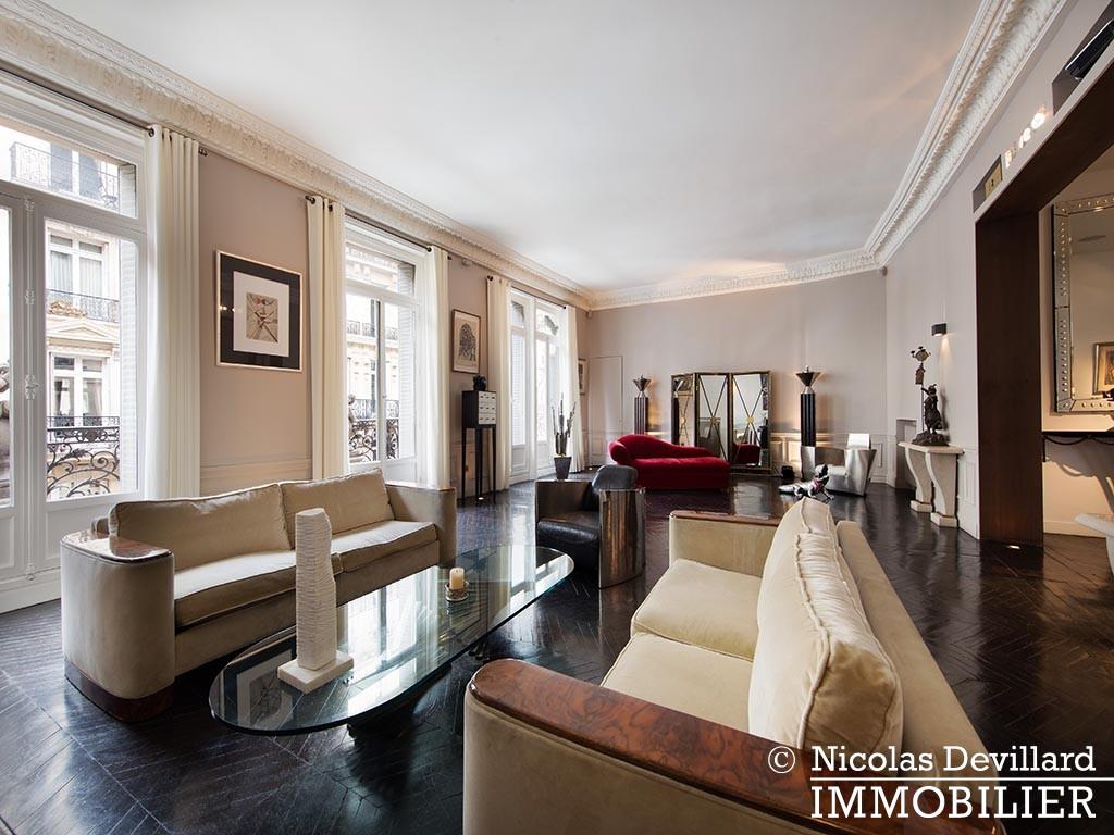 George VMarbeuf – Somptueux appartement de réception avec 2 grandes suites – 75008 Paris (8)