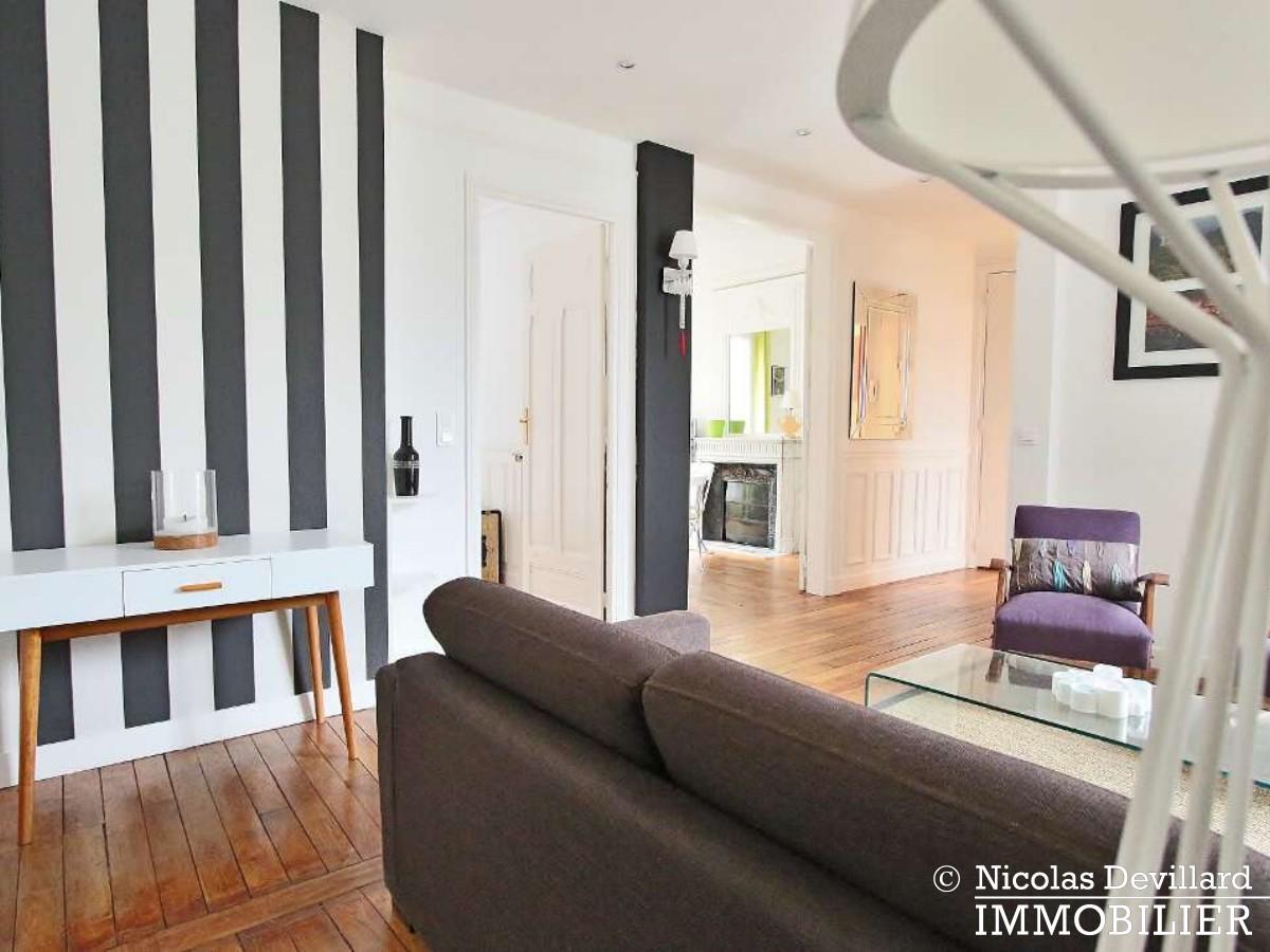Ranelagh – Haussmannien au dernier étage – 75016 Paris (25)