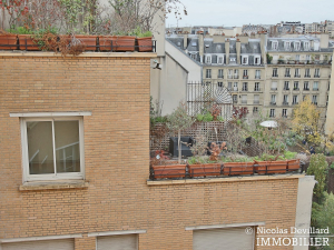 Village d'Auteuil Duplex dernier étage terrasses 75016 Paris (43)