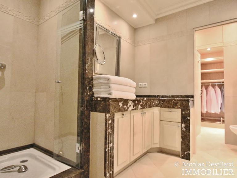 MarceauChaillot – Grand salon, vue et balcons - 75008 Paris (15)