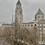 MarceauChaillot – Grand salon, vue et balcons 75008 Paris (2)