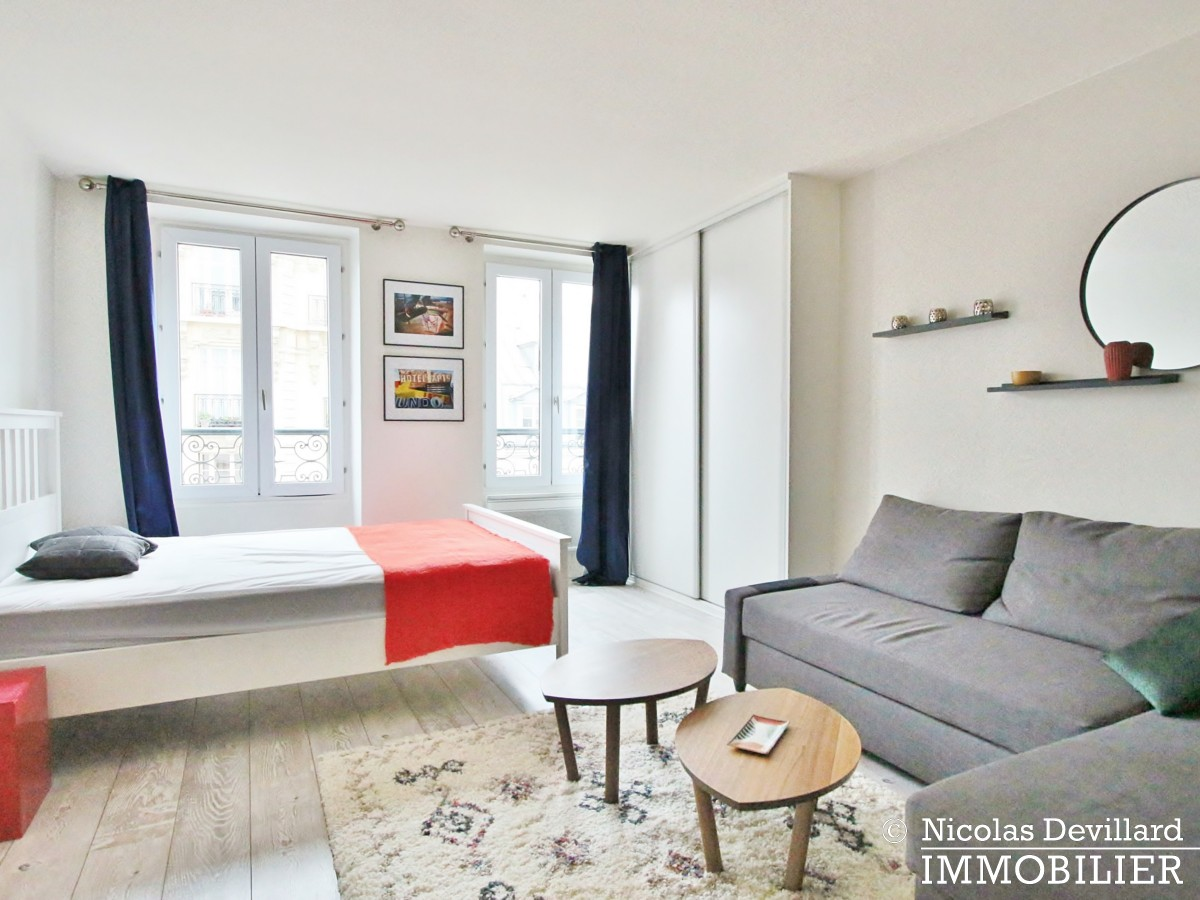 Square TrousseauMarché d'Aligre – étage élevé, vue dégagée et lumière – 75011 Paris (3)